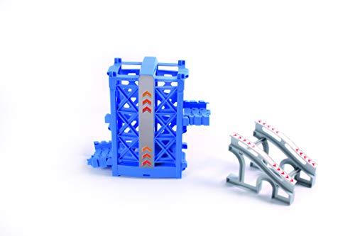 Magic Tracks Fahrstuhl | Rennbahn Kinder 3 Jahre | Auto Zubehör für Autorennbahn | Leuchtendes Autorennbahn Spielzeug | Lift Aufzug Ergänzung