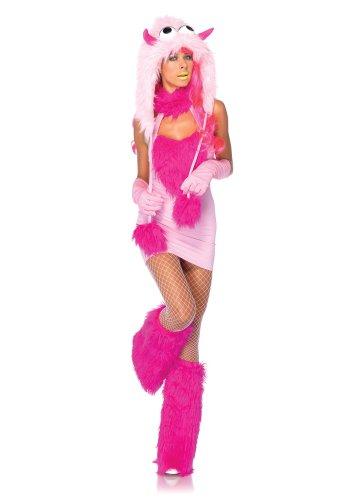 Leg Avenue 85152 - Puff Monster Kostüm, Größe M/L, rosa