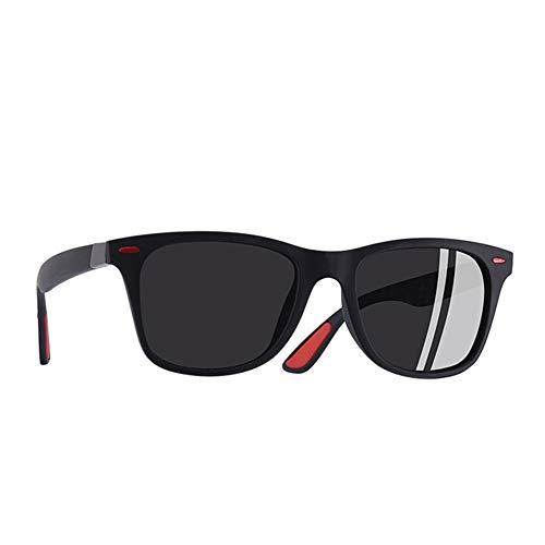 Wang-RX Tr90 Polarisierte Sonnenbrille Männer Frauen Fahren Platz Stil Sonnenbrille Männliche Schutzbrille Uv400 7 Farben