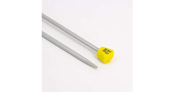 Aluminium Aiguilles Tricot Pas Cher Longueur 30cm Craft it Aiguilles /à Tricoter 10mm
