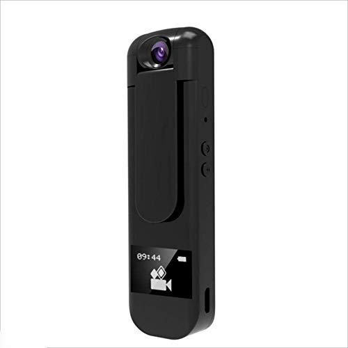 Digitalrekorder, 1080P HD-Kamera, Tragbarer MP3-Player Mit Drehbarer Linse Webcam ( Color : SCHWARZ ) -