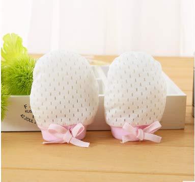 2bc9170b040bfe Wiwi.f Baumwolle Eis Seide Baby Anti-Grab-Handschuhe Kordelzug Einstellbar  Anti-