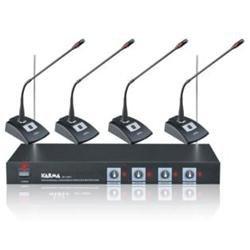 KARMA SET 8041 - Kit per conferenze wireless 4 mic