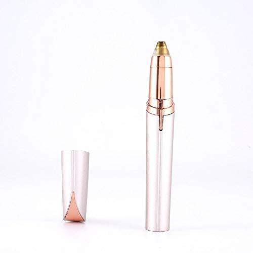 Épilateur Rouge à lèvres Multifonctionnel Rasoir pour Sourcils Visage Stylo Mini-Rasoir électrique indolore pour Sourcils