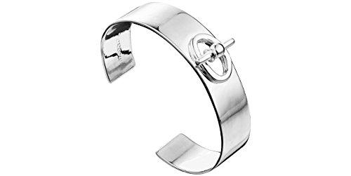 f568120984 Clio Blue La Baule Cuff Bracelet 925 Sterling Silver, 26.6 g, fastening