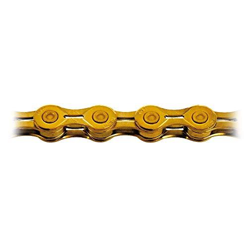 KMC Fahrradkette X10el Ti-n Gold 1/2