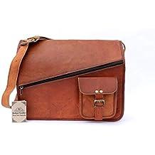 1c2cf0de91 VENTE 2019 - Dernier JOUR! Shakun Leather sac bandoulière avec fermeture  éclair vintage fabriqué à