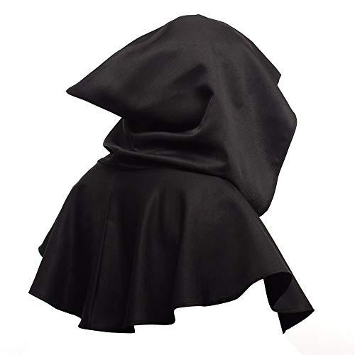 XHXseller Kapuzen Robe Mantel Cape Cosplay Kostüm Unisex Gugel Hut Mantel Maskerade Hexerei Kapuzen Cape Pagan Halloween Hexe Wicca