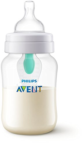 Philips Avent SCF813/14 - Biberón anti cólicos con sistema patentado Airfree, 260 ml