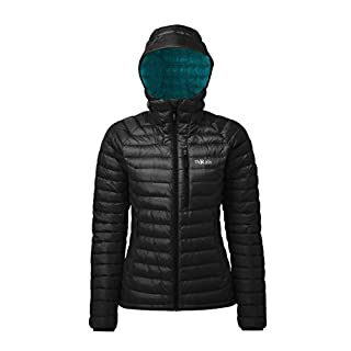 Rab Women's Microlight Alpine Jacket - Black - 10