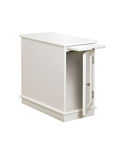Furniture of America Möbel von Amerika Asters Accent Seite Schrank, weiß (Schrank Amerika)