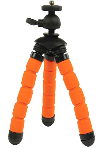 Eurosell Profi 13cm Mini Tisch Kamera Stativ - Ultra flexibel - für GoPro / Canon / Nikon / Samsung etc. Flexibles Kamerastativ