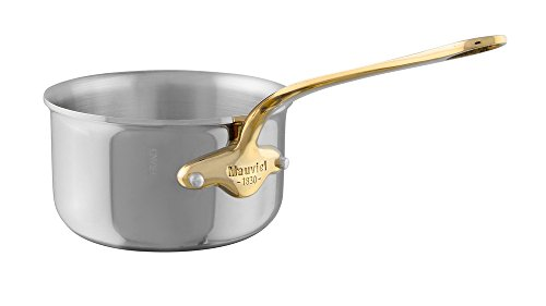Mauviel1830 - M'Cook 351016 - Casserole inox - 16 cm