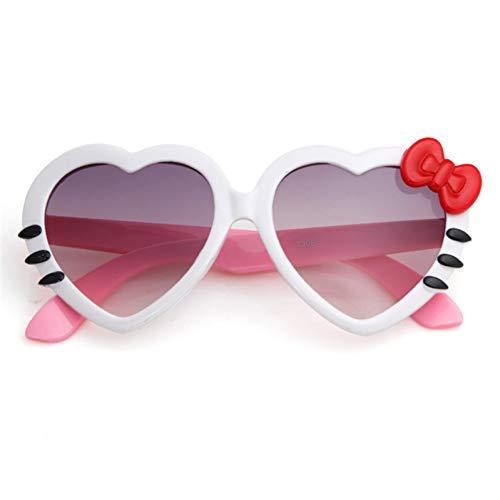 CCGSDJ Mode Kinder Sonnenbrillen Kinder Prinzessin Cute Baby Brillen Großhandel Hohe Qualität Jungen Gilrs Cat Eye Brillen (Brille Großhandel)