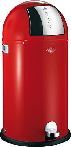 Wesco Abfallsammler Kickboy 40 Liter rot -