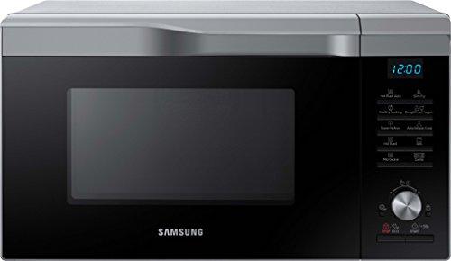 Samsung MC28M6035CS/EG Kombi-Mikrowelle mit Grill und Heißluft  / 900 W / 28 L Garraum (Extra groß) / 51,7 cm Breite / HotBlast-Technology / SlimFry / silber