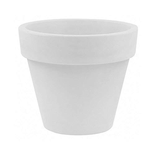 Vondom Maceta vase diam. 60 h. 52 cm. blanc