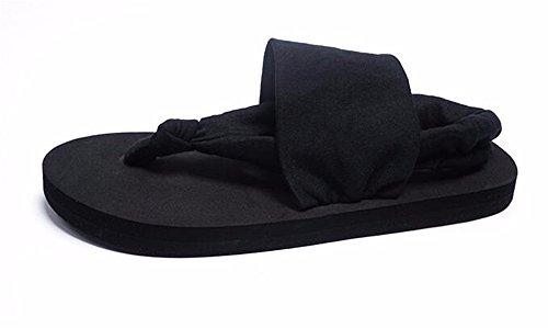 FLYRCX Onorevoli estate pin semplice piatto sandali ciabattine a