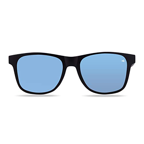 Hanukeii Unisex-Erwachsene Kailani Black Sonnenbrille, Schwarz, 51