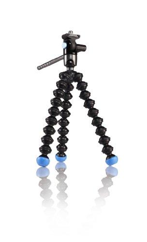 Joby Gorillapod Video - Trípode portátil para smartphones (ABS, 360°), color negro y azul claro