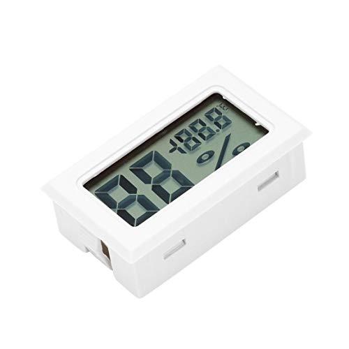Medidor de temperatura profesional Mini Digital LCD Termómetro higrómetro humedad...