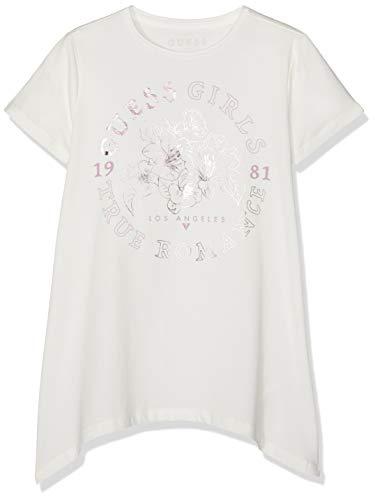 Guess Mädchen Pullunder Ss T-Shirt Weiß (White Clay A005 Wcly) 158 (Herstellergröße: 14)