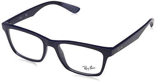 Ray-Ban Unisex-Erwachsene Brillengestell Liteforce, Schwarz (Negro), 56