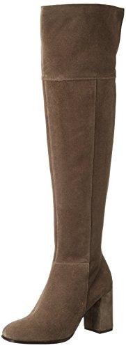 Kennel und Schmenger Schuhmanufaktur 41-86210, Stivali sopra il ginocchio con imbottitura leggera Donna, Marrone (tundra 345), 39 EU