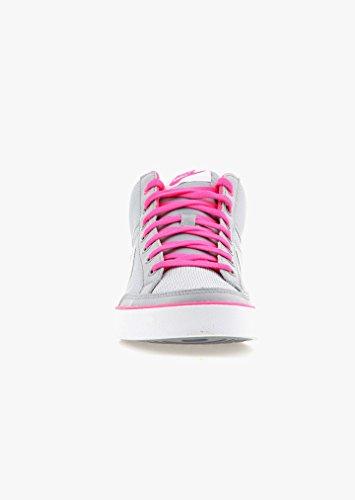 Nike Capri 3 Mid Txt Gs, Chaussures de Sport Fille gris Gris