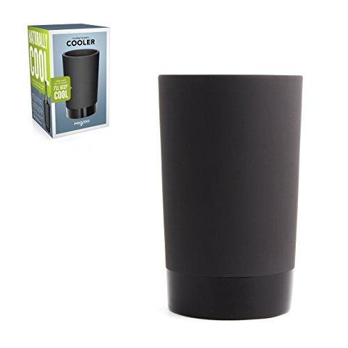 Magisso 70604 Flaschen- und Weinkühler in Keramik, hält das Getränk 4-6 Stunden natürlich abgekühlt durch Verdunstung, 12,7 x 12,7 x 20,9 cm - 11