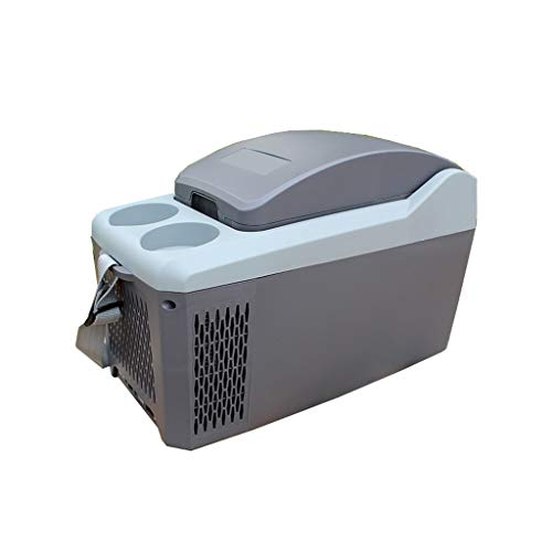 LT&NT Réfrigérateur de Voiture 10 litres Portable Mini Frigo Électrique Chaud et Cool Box 12 V Congélateur Refroidisseur pour Voyage en Plein Air Pique-Nique Camping