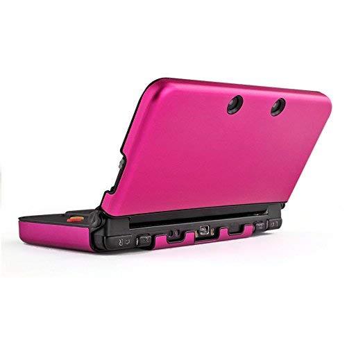 Hartschalen-Schutzhülle für Nintendo 3DS XL LL 2015 Konsole, Aluminium, Hot Pink