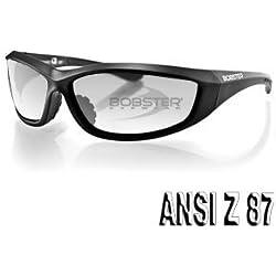 Balboa echa001C Ladegerät Sonnenbrille, BLK Rahmen, Anti-Fog Clear Lens, ANSI Z87