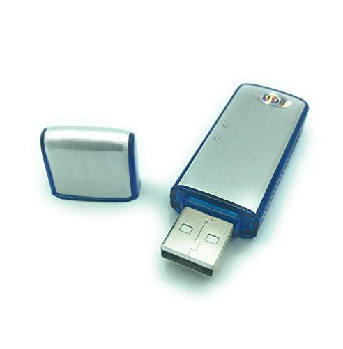 Pendrive mini grabador voz 8GB memoria USB. Grabadora