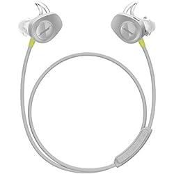 Bose SoundSport - Auriculares inalámbricos (Bluetooth, NFC, micrófono), color citron