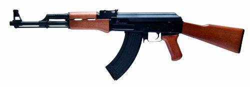 Kalashnikov Softair Gewehr Ak-47 - Arma de Airsoft (0,5 Julios, 6 mm), Color Negro