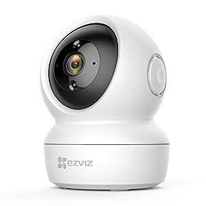 EZVIZ C6N Telecamera Wi-Fi Interno 1080p Videocamera Sorveglianza da Interno Pan/Tilt/Zoom Compatibile con Alexa… 318AweT9KTL. SS300