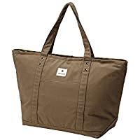 Snow Peak Cooler Tote Bag Camping Accessory One Size Brown