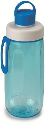 Snips Bottiglia per L'ACQUA in Tritan da 0,50 lt-Blu, Unisex Adulto,