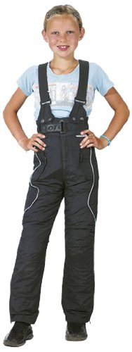 Roleff Racewear Motorradhose für Kinder, Schwarz, M/140