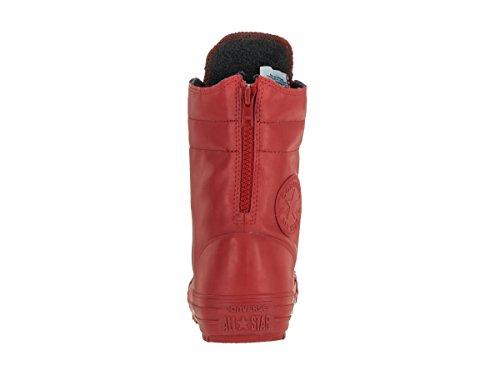 Converse stivali di pelle blu 549590C delle Mandrini donne CT AS Hi-Rise Boot Rubber Nightimee Navy Rosso
