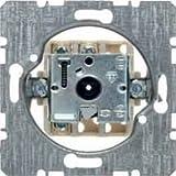 Hager 3841 placa de pared y cubierta de interruptor - Placas de pared y cubiertas de interruptor (Metal, 71 mm, 71 mm)