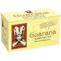 BADERs Guarana Rising Sun Tea aus der Apotheke. Schwarzer Tee mit Guarana. Weckt die Lebensgeister. 20 Btl, 40g. Pharmazentralnummer: 0314597