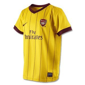 Nike Arsenal Ss Away Repl Jsy 386824-749 Herren Kurzarm T-shirts Fuâ–'ball Gr. XL