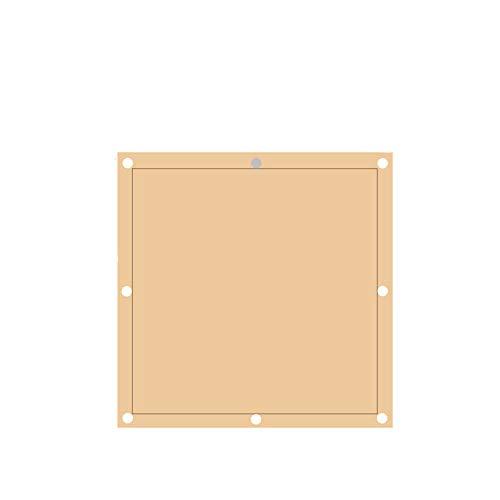 BCLGCF Sandfarbene Rechteckige Sonnensegel, Sonnensegeldecken, Terrassengärten, Außenanlagen Und Aktivitäten UV-Visiere, Terrassengärten, UV-Sonnensegel,2MX2M