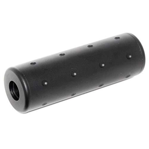 Airsoft Softair Ausrüstung 5KU 102mm Aluminium Stubby Schalldämpfer Laufverlängerungsrohr Suppressor Silencer Barrel Extension Tube -14mm CCW / +14mm CW