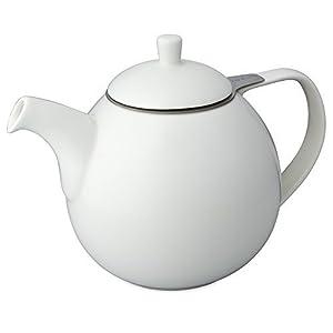 FORLIFE Curve 1,33l Teekanne mit Sieb – Weiß