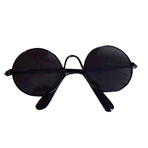 Junlinto, Puppe Coole Brille pet Sonnenbrille für bjd Blyth amerikanischen Grils Spielzeug Foto Requisiten