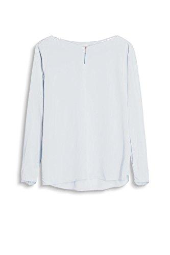 ESPRIT Damen Bluse Blau (Pastel Blue 435)