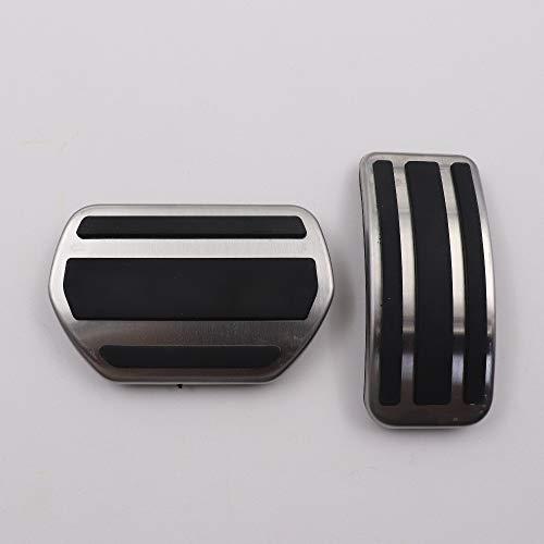 TAABOBO Auto zubehör für Peugeot 307 2008 207 301 cc sw GTI/rc 208 GTI 308 408 cc at/mt std Pedal Aufkleber Abdeckung pad (Rc-autos Von Mitsubishi)
